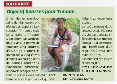 La Tribune Villeneuve d'ascq - mai14