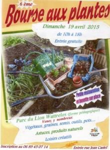Bourse aux plantes 2015 Wattrelos