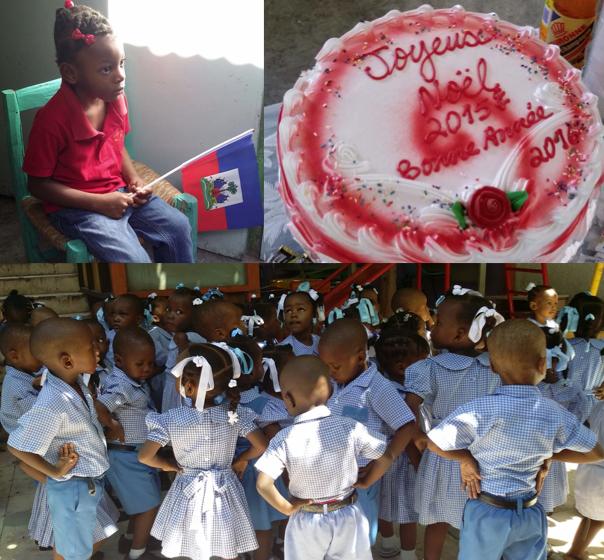 Meilleurs voeux 2016 de la part des timouns for College canape vert haiti