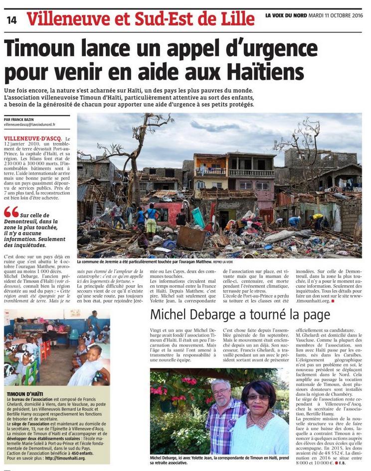 article-timoun-dhaiti-voix-du-nord-octobre-2016